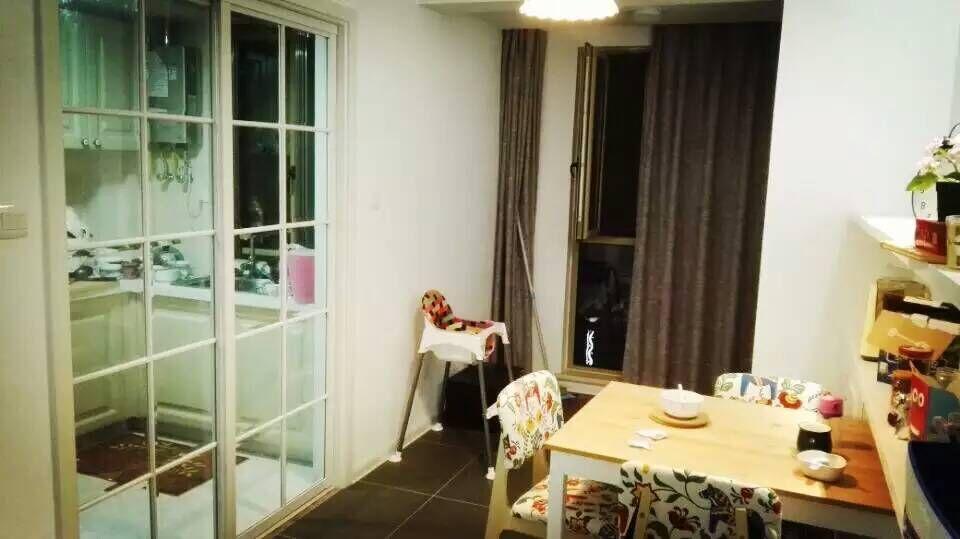 简约 现代 二居 装修 家装 宜家 餐厅图片来自南京实创装饰夏雨荷在80平紫阳佳苑完工工地的分享