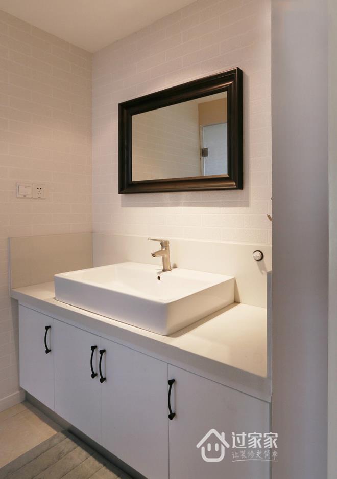 三居 80后 小资 卫生间图片来自过家家装饰在三室两厅简约风格 干净小清新的分享