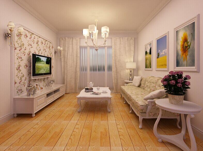 家天下装修 客厅图片来自郑州实创装饰-杨淑平在家天下90平温馨田园设计图的分享