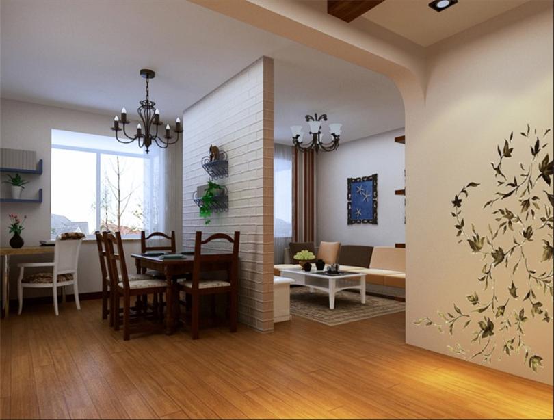 二居 白领 收纳 80后 小资 客厅图片来自实创装饰完美家装在中海金石公馆90平二居地中海风格的分享