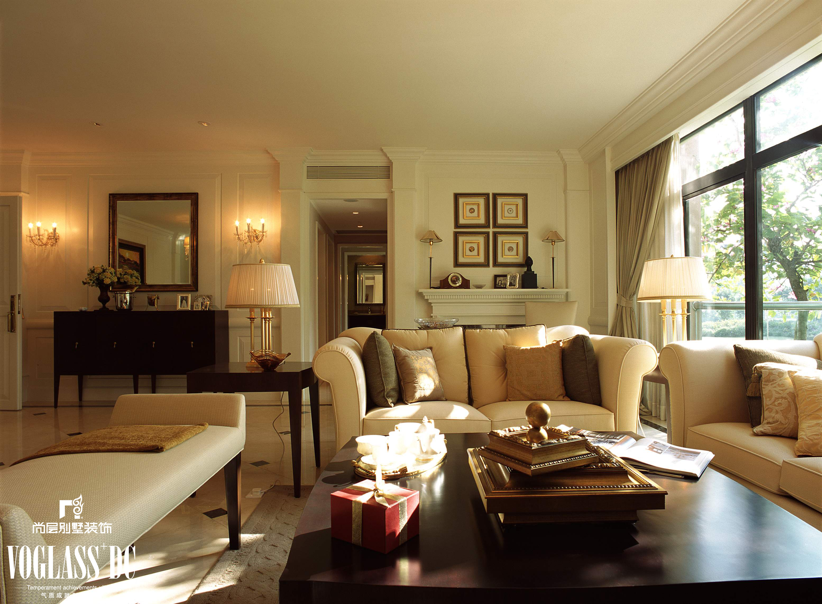 富力津门湖 美式风格图片来自尚层装饰王奕钧在天津别墅装修设计的分享