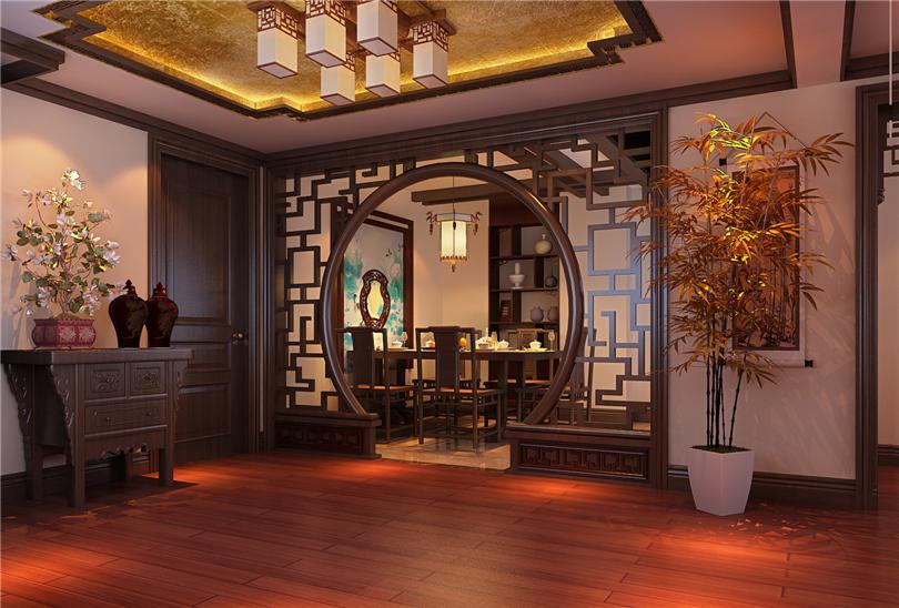 白领 收纳 80后 小资 餐厅图片来自实创装饰完美家装在星河城三期160平四居新中式风的分享