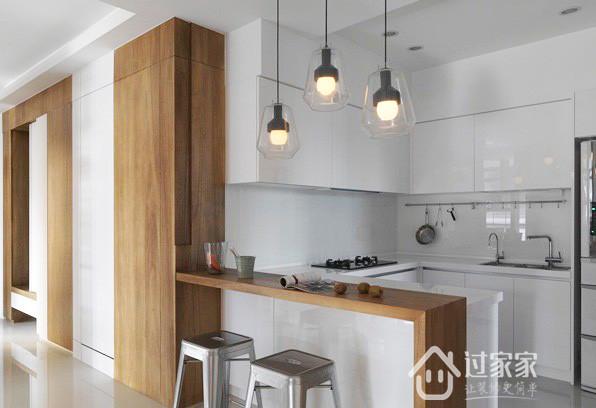 简约 二居 80后 小资 厨房图片来自过家家装饰在两居室 疗愈自然的放松空间的分享