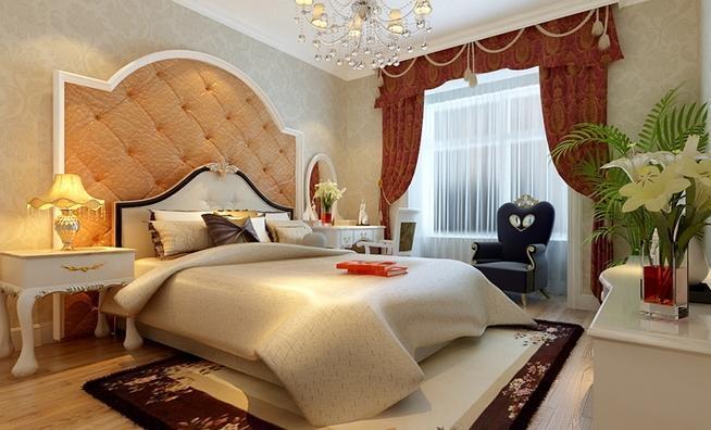三居 欧式 小资 收纳 卧室图片来自武汉实创装饰在全民见证,100平融侨城美居的分享