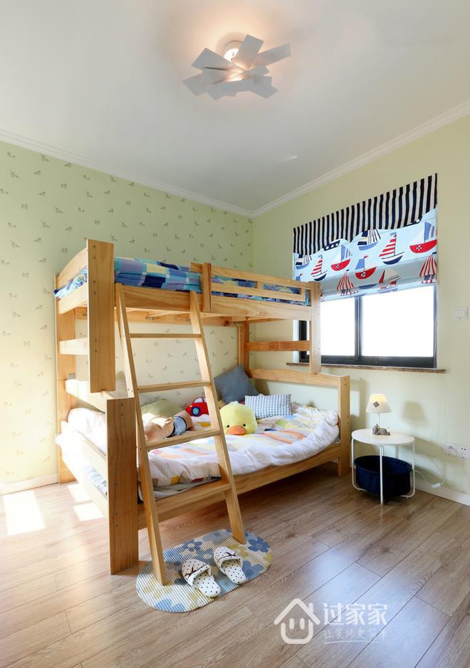 三居 80后 小资 卧室图片来自过家家装饰在三室两厅简约风格 干净小清新的分享