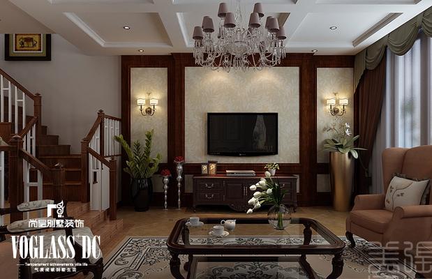 美式图片来自尚层装饰王奕钧在天津别墅装修设计-美式的分享