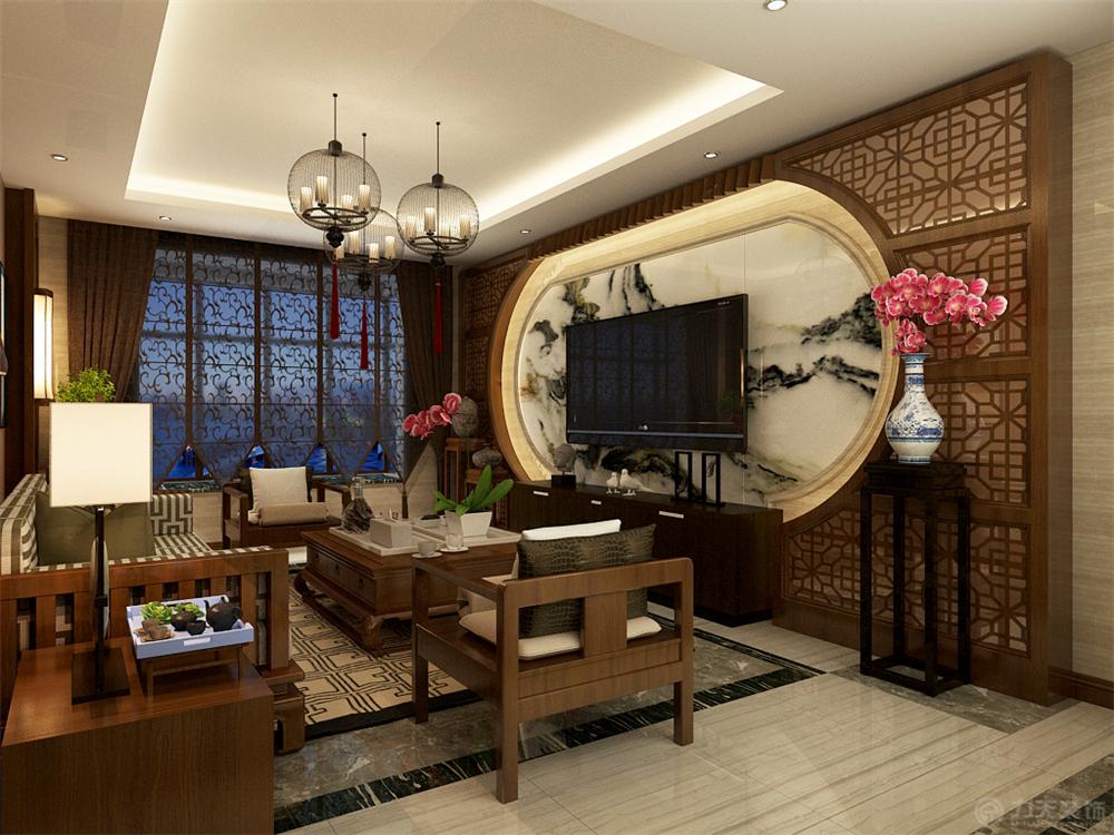 客厅图片来自阳光力天装饰梦想家更爱家在力天装饰 中信公园城  126.00㎡的分享