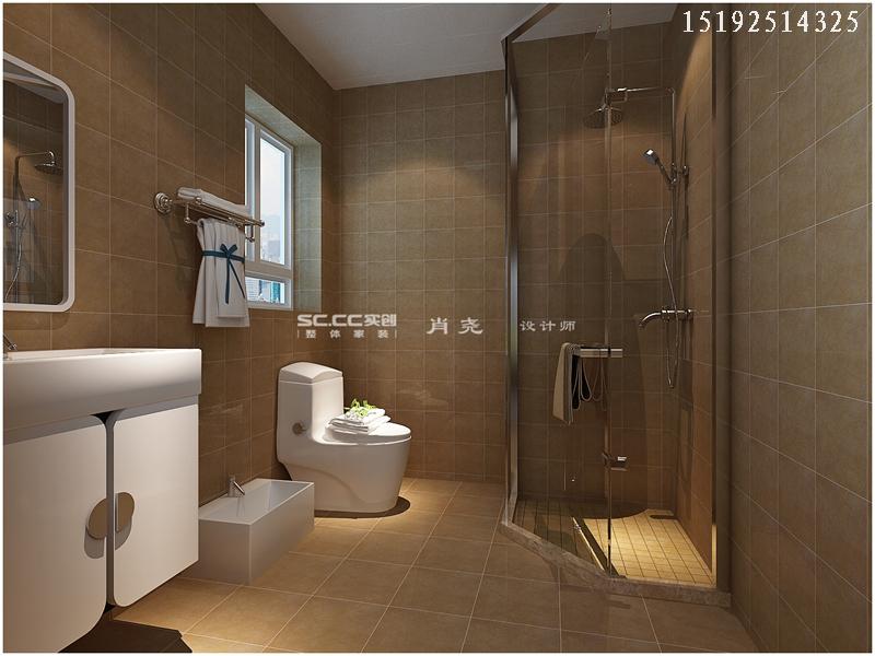 三居 中式 小资 收纳 卫生间图片来自快乐彩在晓港名城中式装修设计实创装饰的分享
