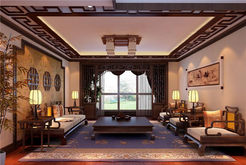 白领 收纳 80后 小资 客厅图片来自实创装饰完美家装在星河城三期160平四居新中式风的分享