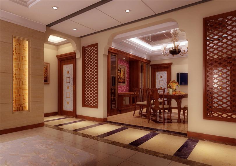 三居 白领 收纳 80后 小资 餐厅图片来自实创装饰完美家装在时代龙和大道140平三居新古典风的分享
