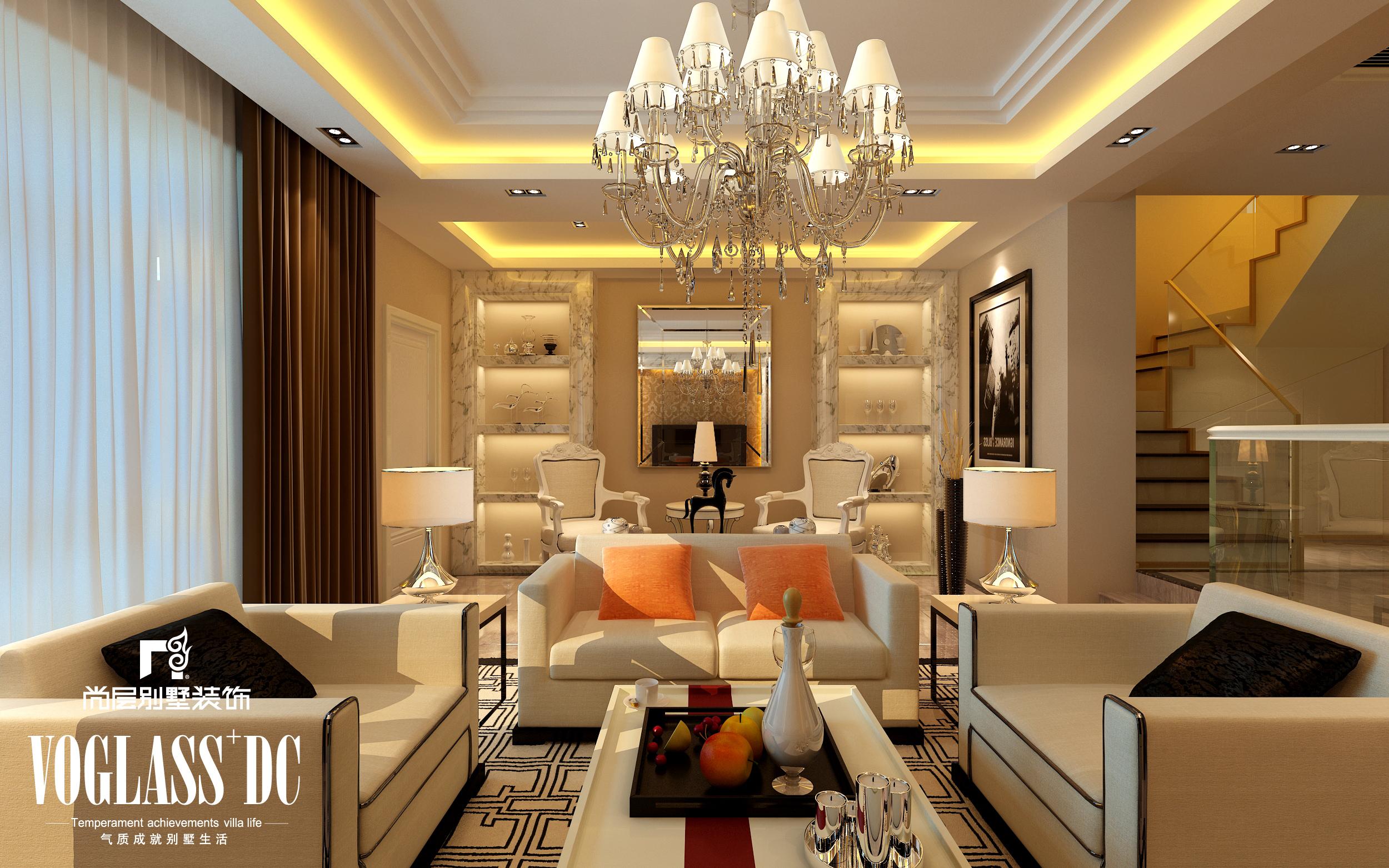 后现代图片来自尚层装饰王奕钧在天津别墅装修设计-后现代1的分享