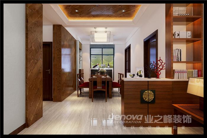餐厅图片来自太原业之峰装饰在阳光汾河湾新中式风格装修效果图的分享