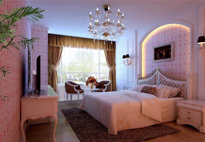 三居 白领 收纳 80后 小资 卧室图片来自实创装饰完美家装在滨河临镜苑二期150平三居美式风的分享