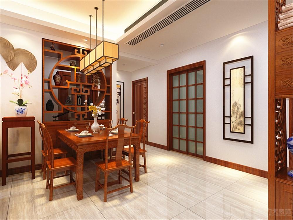 中式 餐厅图片来自阳光力天装饰梦想家更爱家在中式 中粮 130平米的分享