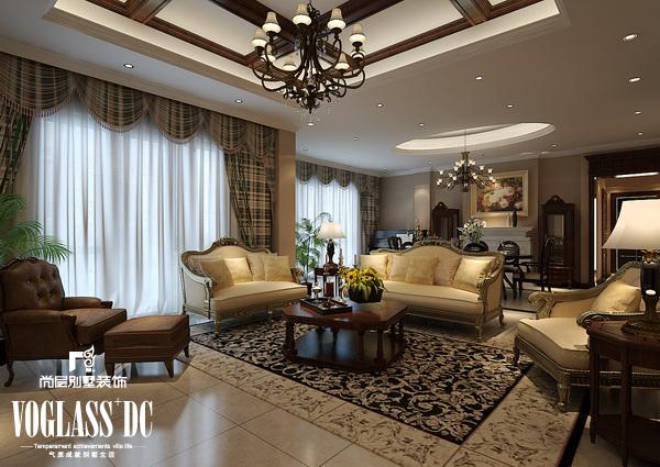 欧式 别墅 天津尚层 客厅图片来自Spencer丶nuzzi在滨海湖简欧的分享