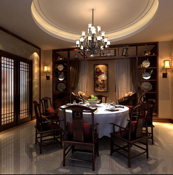 简约 别墅 中式 旧房改造 餐厅图片来自成都V2装饰在芙蓉古城绽放的文化的分享