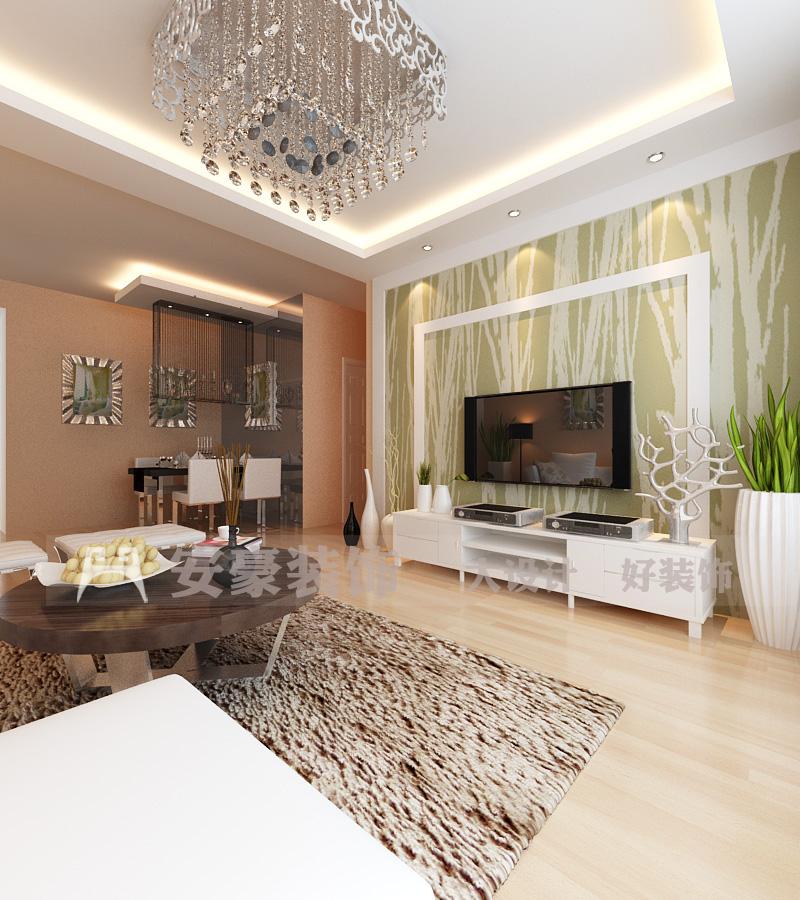欧式 混搭 小资 客厅图片来自安豪装饰在元一柏庄的分享