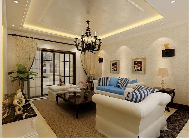 简约 欧式 三居 混搭 田园 白领 80后 英伦城邦 客厅图片来自成都V2装饰在欧式粉嘟嘟可爱的分享