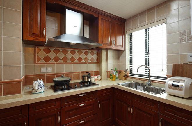 田园 二居 三居 混搭 旧房改造 80后 美式风格 上海装修 厨房图片来自上海实创-装修设计效果图在上海150平米乡村美式风格的分享