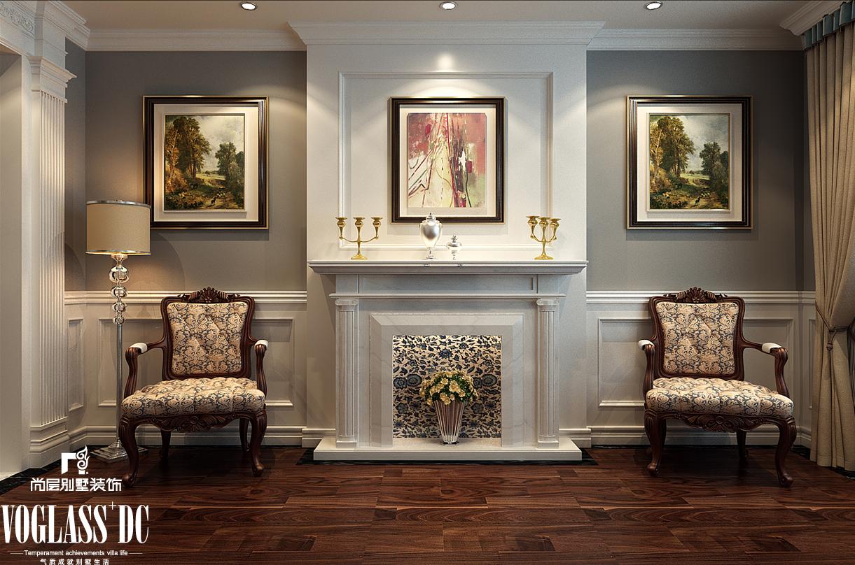 欧式 别墅 天津尚层 玄关图片来自Spencer丶nuzzi在复地温莎堡的分享