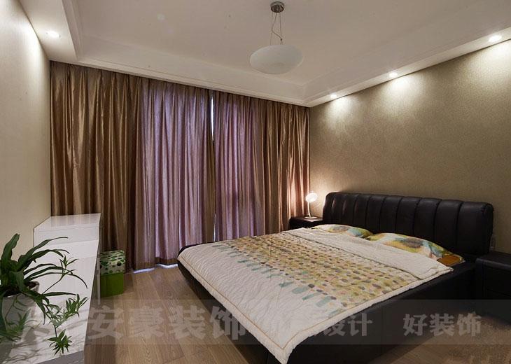 混搭 白领 80后 小资 卧室图片来自安豪装饰在天鹅湖畔的分享