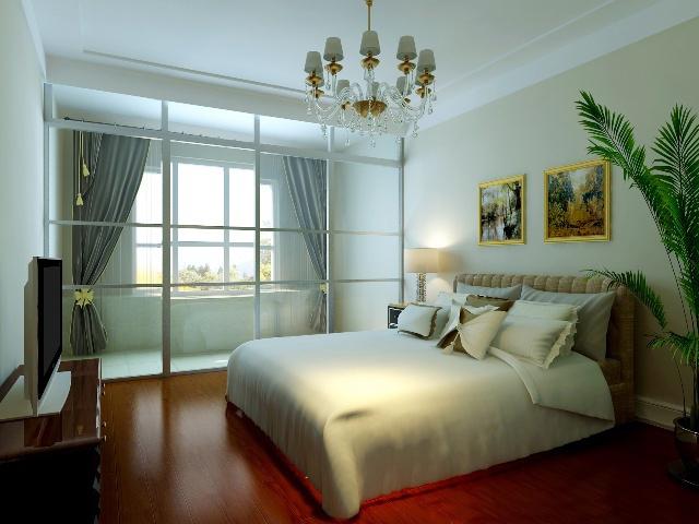 升龙又一城 现代风格 两居 效果图 卧室图片来自张樂在升龙又一城 两居 现代简约风格的分享