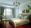 升龙又一城 90平两居室 现代简约风格 装修设计案例 效果图-卧室