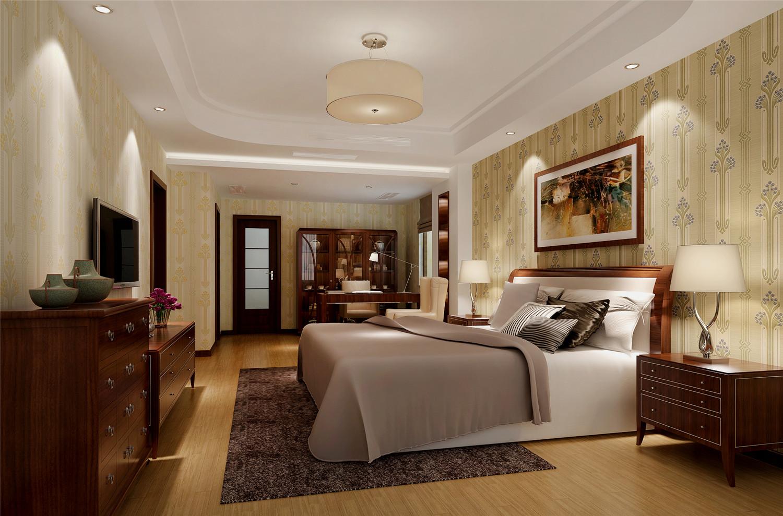 华仁大厦 装修设计 简约欧式 腾龙设计 林财表作品 卧室图片来自腾龙设计在华仁大厦装修简欧风格设计的分享