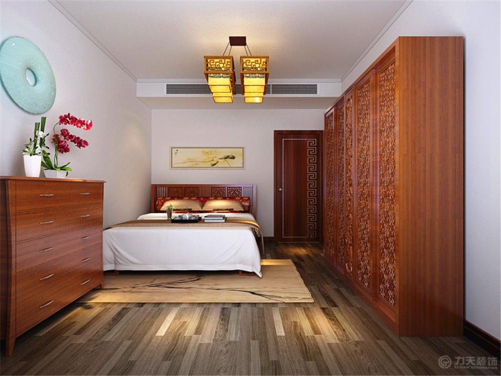 中式 卧室图片来自阳光力天装饰梦想家更爱家在中式 中粮 130平米的分享