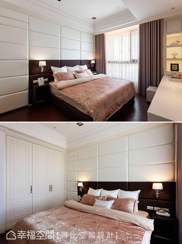 新古典 美学 收纳 小资 简约 卧室图片来自幸福空间在132平新古典美学的中庸之道的分享