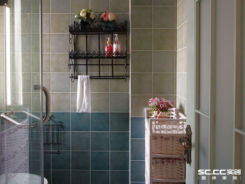 田园 二居 卫生间图片来自实创装饰上海公司在乡村田园风格绿色空间的分享
