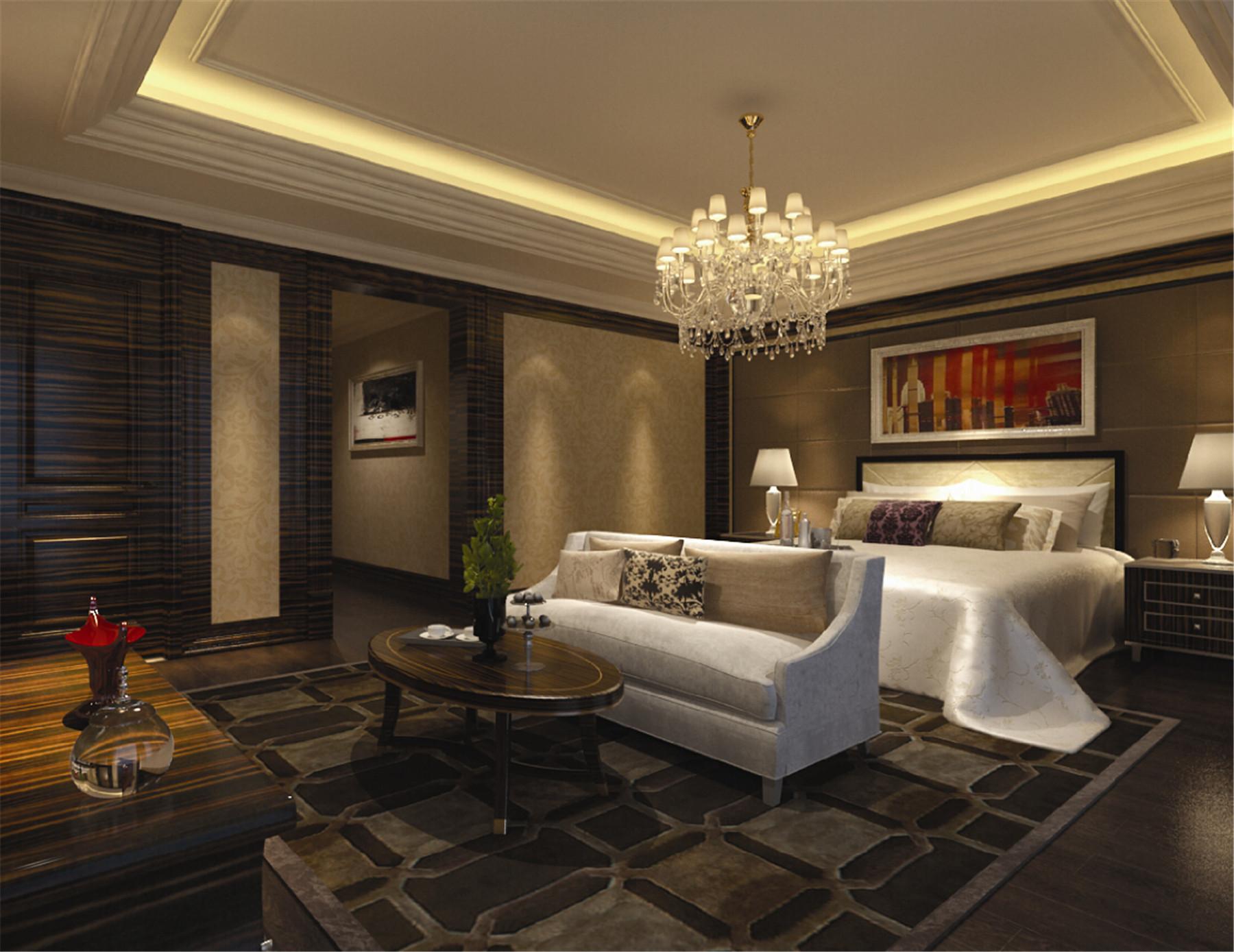 皇都花园 别墅装修 别墅设计 欧式古典 腾龙设计 卧室图片来自腾龙设计在皇都花园别墅装修欧式风格设计的分享