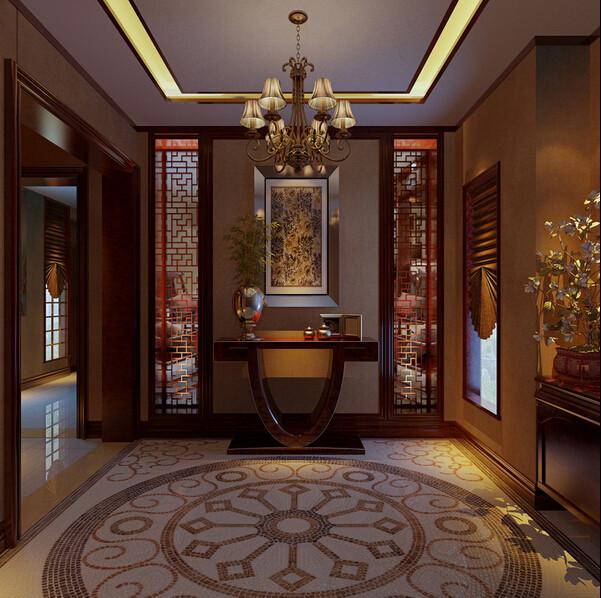 简约 别墅 中式 旧房改造 书房图片来自成都V2装饰在芙蓉古城绽放的文化的分享