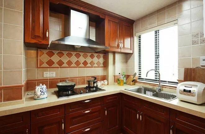 混搭 田园 厨房图片来自众意装饰在清江山水--众意装饰的分享