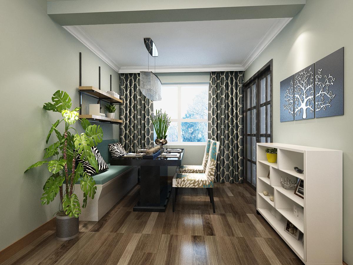 书房图片来自广州实创装饰朱建芳在岭南雅筑116平田园风格的分享