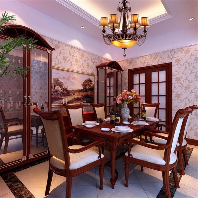 二居 白领 收纳 80后 小资 餐厅图片来自实创装饰完美家装在清华园96平二居美式风格赏析的分享