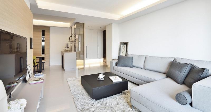 简约 三居 客厅图片来自四川建拓建筑装饰工程有限公司在现代简约-心语的分享