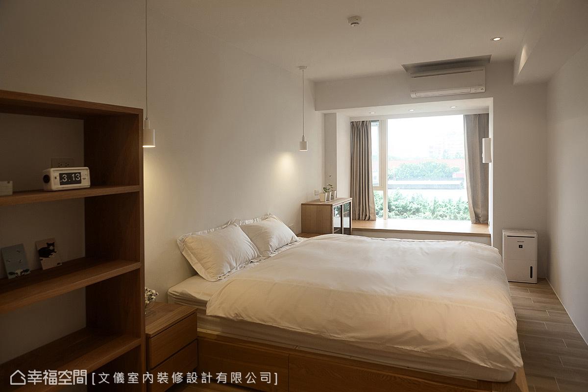 简约 一居 日光 旧房改造 小资 收纳 卧室图片来自幸福空间在70平无印良品の轻暖宅的分享