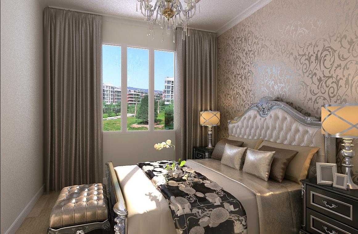 卧室图片来自广州实创装饰朱建芳在保利东江首府130平简欧案例的分享