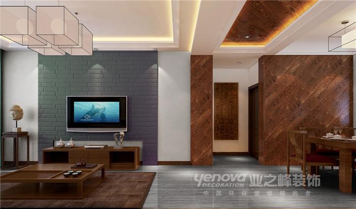 客厅图片来自太原业之峰装饰在阳光汾河湾新中式风格装修效果图的分享
