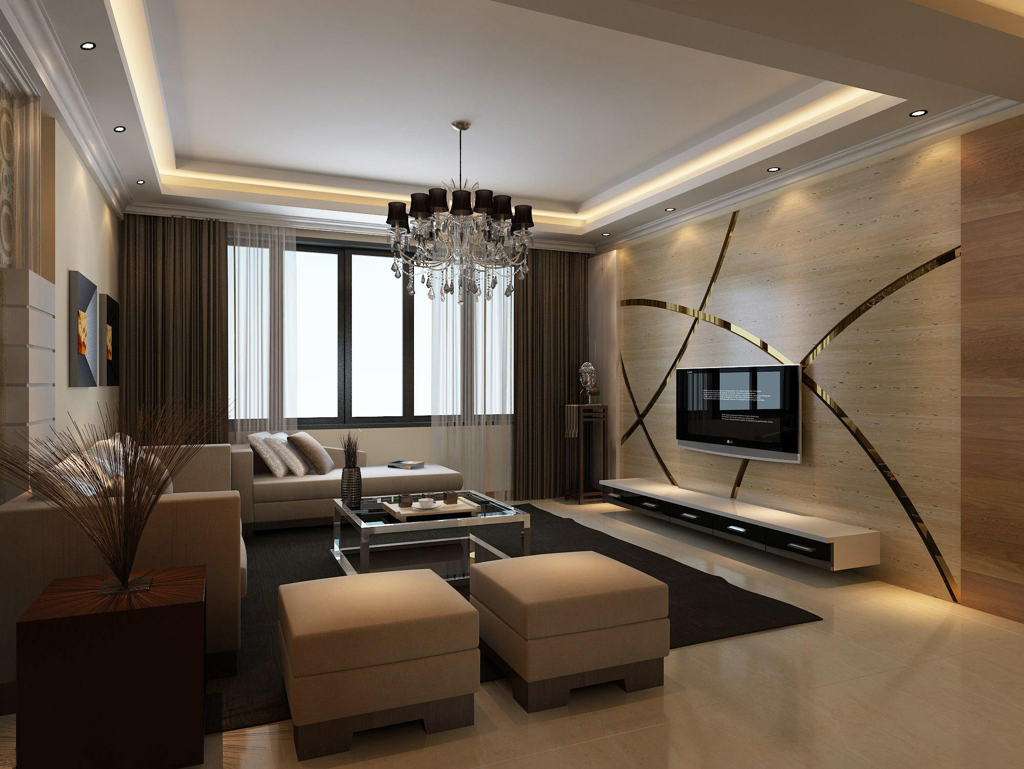 海马公园 三居 现代风格 客厅图片来自张樂在海马公园 三居室 现代简约风格的分享