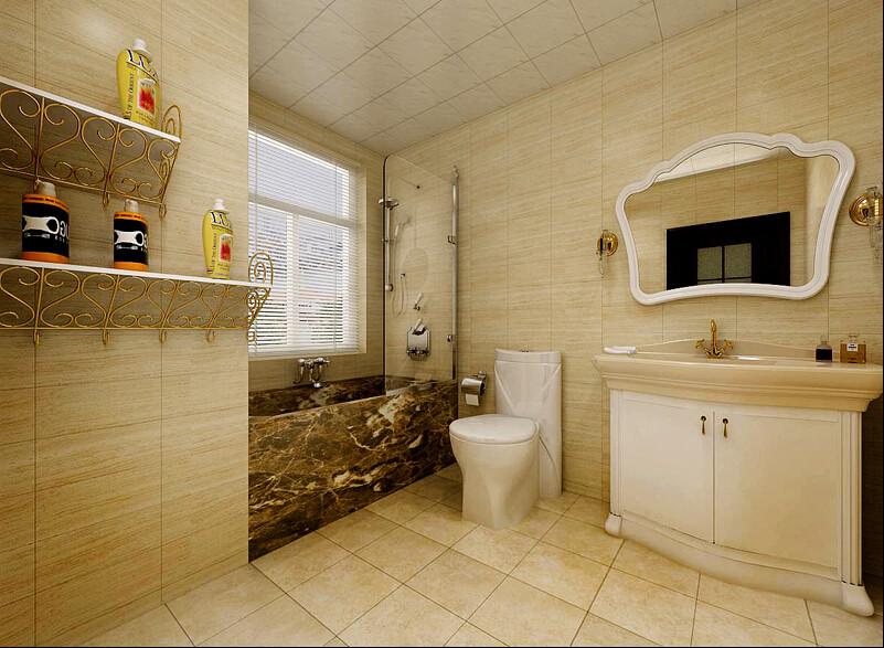 简约 欧式 三居 混搭 田园 白领 80后 英伦城邦 卫生间图片来自成都V2装饰在欧式粉嘟嘟可爱的分享