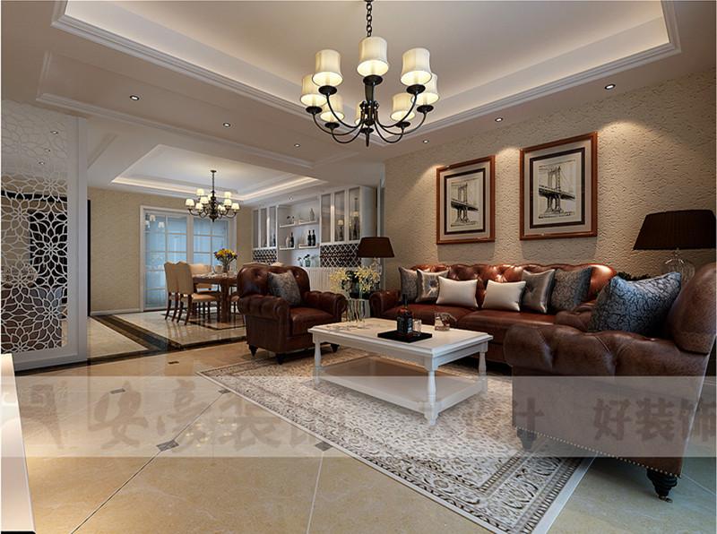 小资 混搭 客厅图片来自安豪装饰在九华山庄的分享