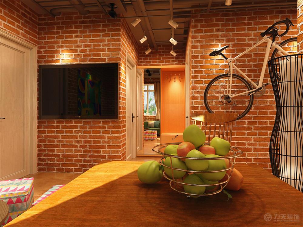 简约 餐厅图片来自阳光力天装饰梦想家更爱家在工业风格 府上和平 82的分享