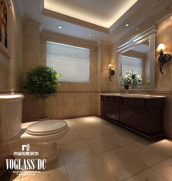 欧式 别墅 天津尚层 卫生间图片来自Spencer丶nuzzi在滨海湖简欧的分享