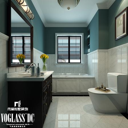 欧式 别墅 天津尚层 卫生间图片来自Spencer丶nuzzi在复地温莎堡的分享