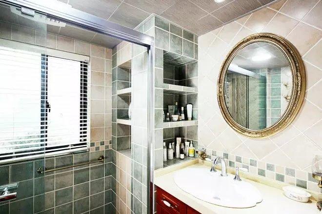 混搭 田园 卫生间图片来自众意装饰在清江山水--众意装饰的分享