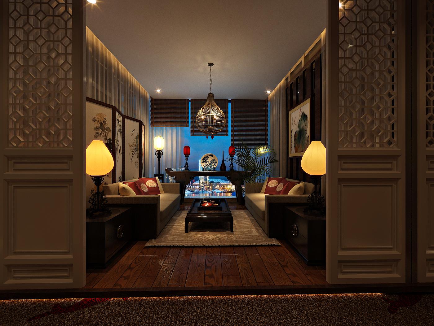 图片来自四川金标装饰别墅装修设计在茶楼装修设计案例的分享