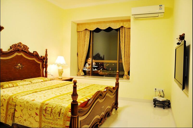 简约 欧式 三居 白领 80后 小资 卧室图片来自成都V2装饰在现代简约欧式风格的分享