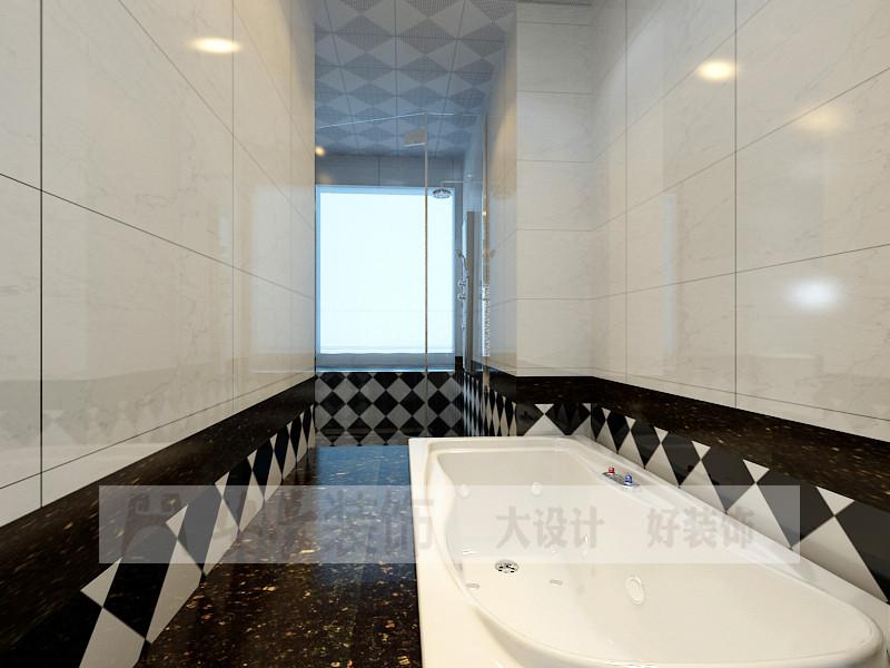 欧式 小资 卫生间图片来自安豪装饰在中央宫园的分享